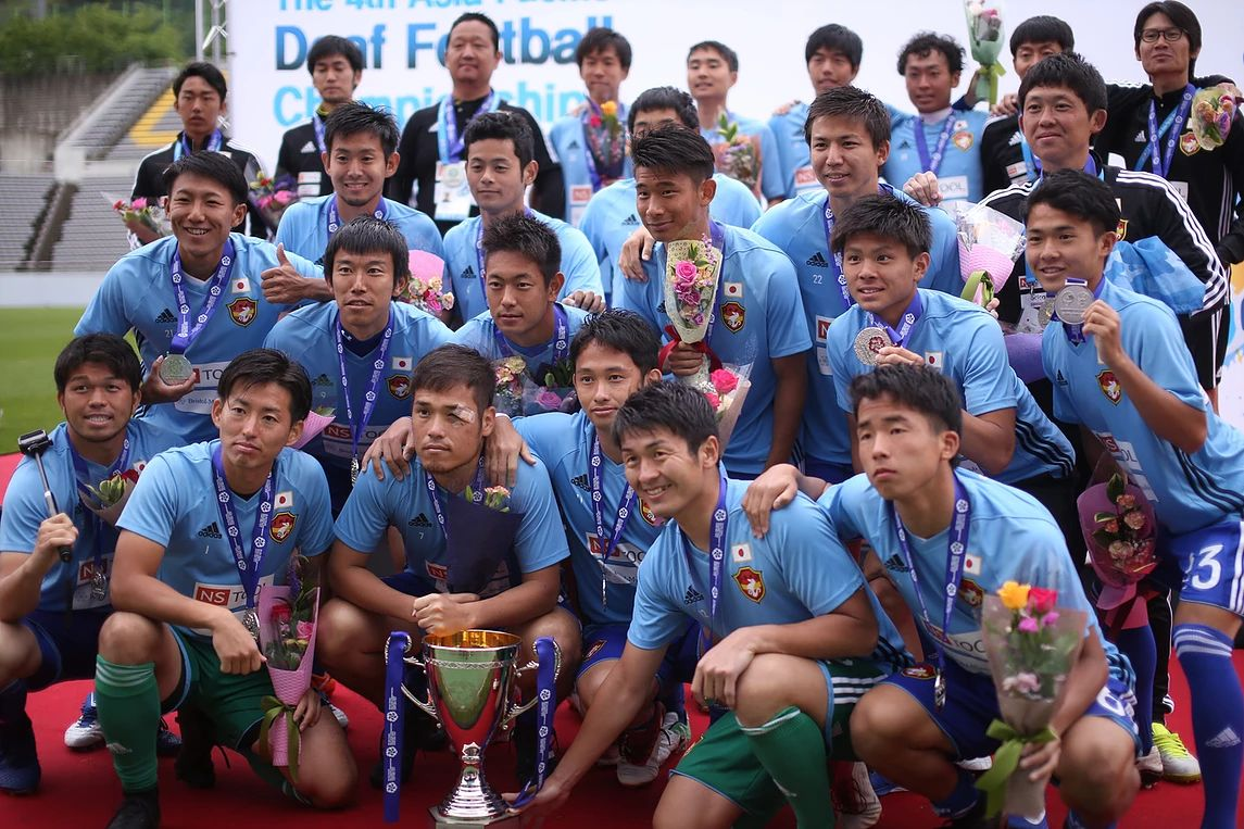 History of Asia Deaf Pacific Football