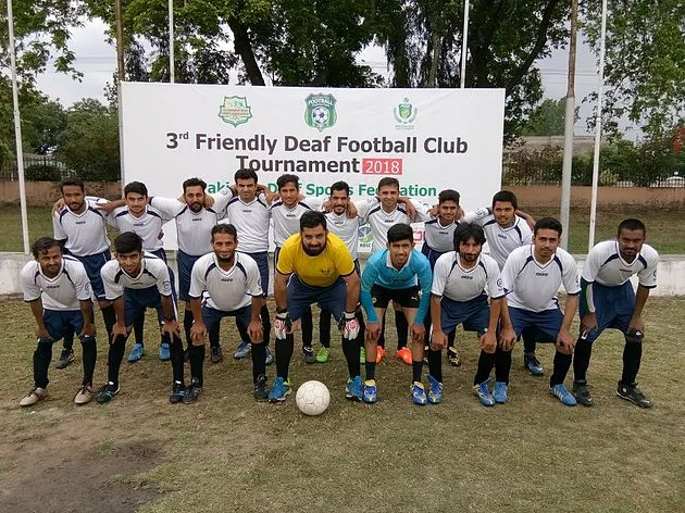 3rd Friendly Deaf Football Club Tournament in Pakistan