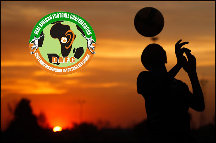 Deaf African Football Confederation is officially registered