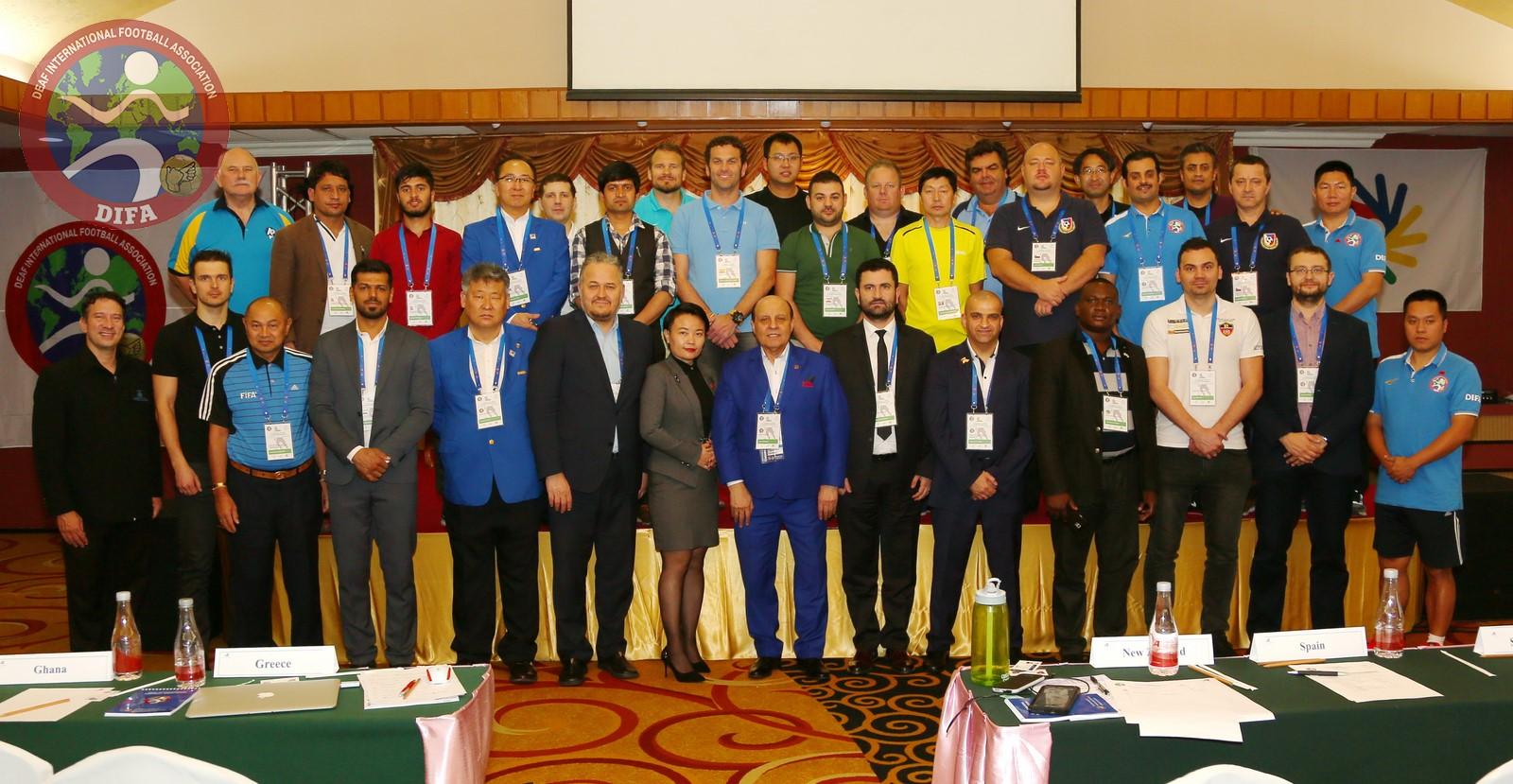 1st Seminar on Deaf Football Development: first day