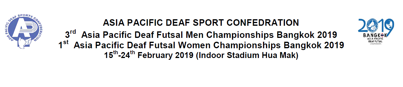 ASIA PACIFIC DEAF SPORT CONFEDRATION