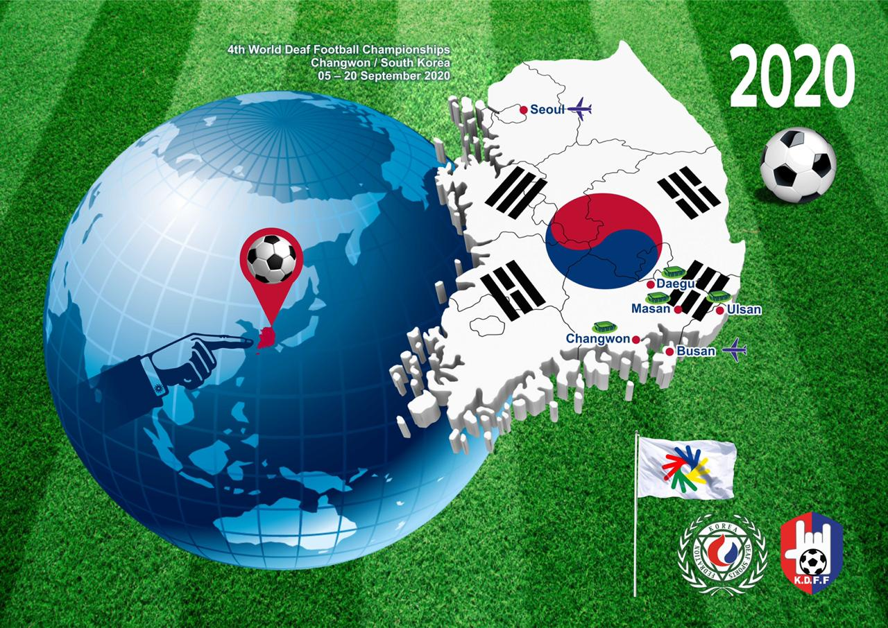 About 4th World Deaf Football Championships in S.Korea