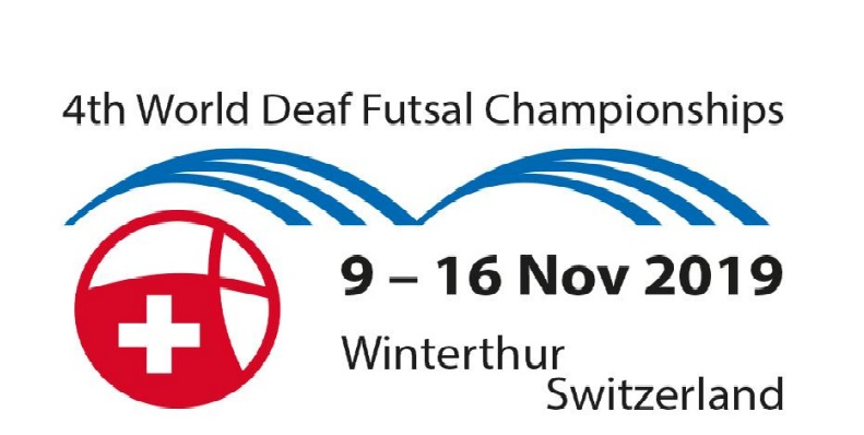 Draw of the 4th World Deaf Futsal Championships