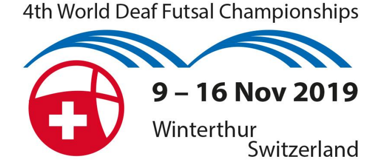 4th World Deaf Futsal Championships 2019 in Winterthur (Switzerland)