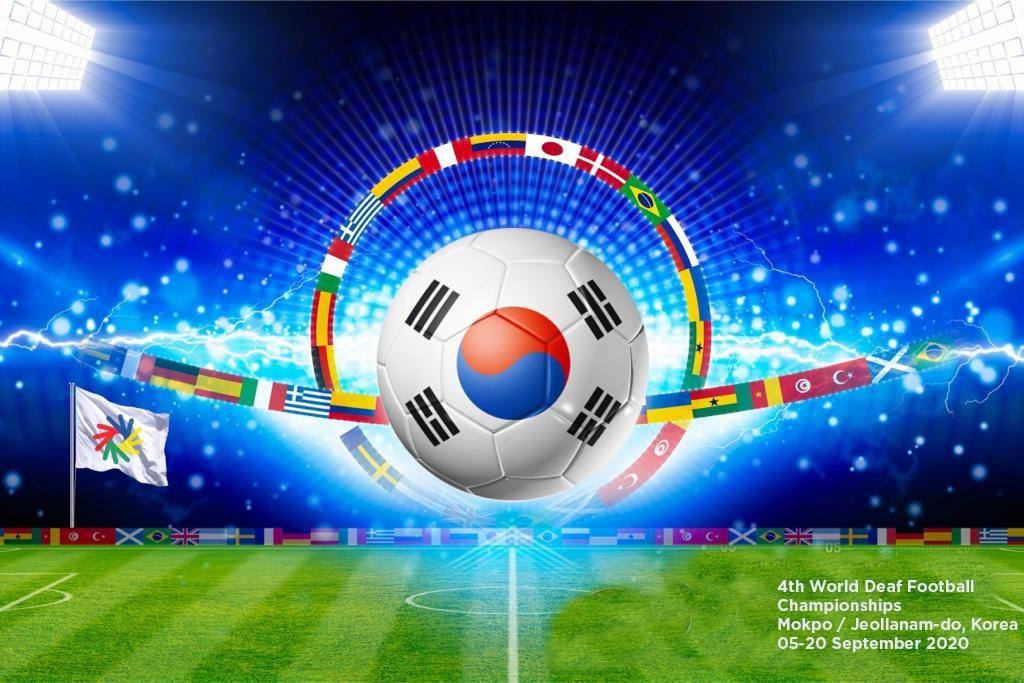 The city of Mokpo hosts the 4th World Deaf Football Championships in 2020.