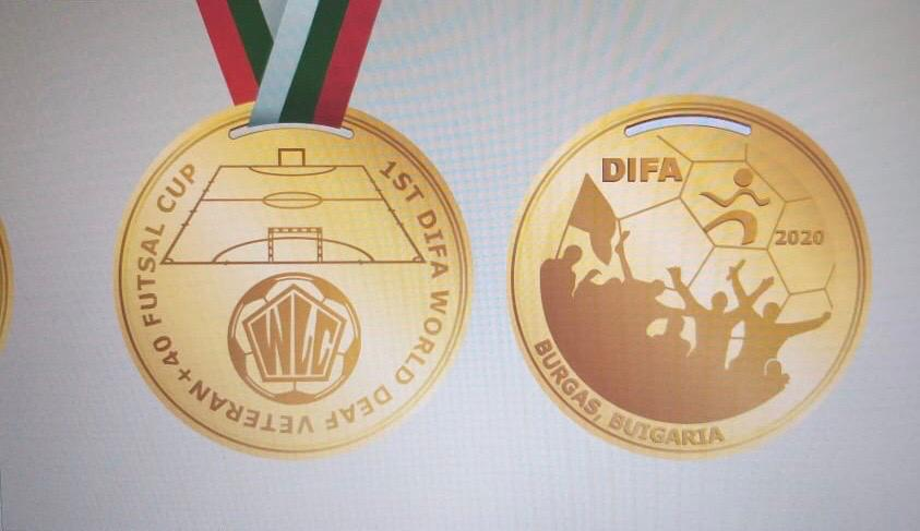 Additional information about 1st Deaf World Futsal Cup, Veterans + 40 (Bourgas, Bulgaria)